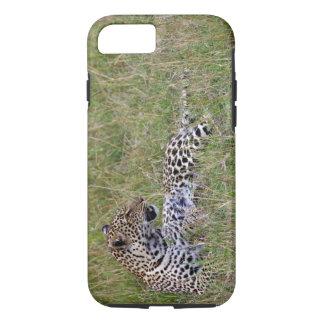 Coque iPhone 7 Léopard (pardus de Panthera) se reposant dans
