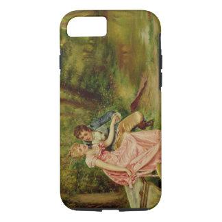 Coque iPhone 7 Les amants (huile sur la toile)