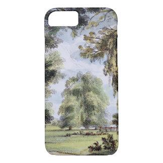 Coque iPhone 7 Les arbres de soeur, Kew fait du jardinage, plaque