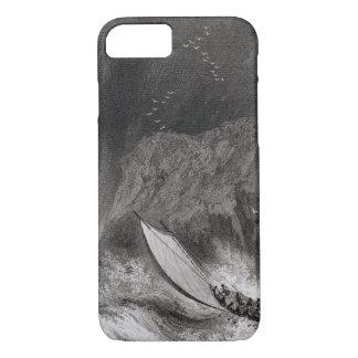 Coque iPhone 7 Les bateaux outre de l'île de Walden dans une