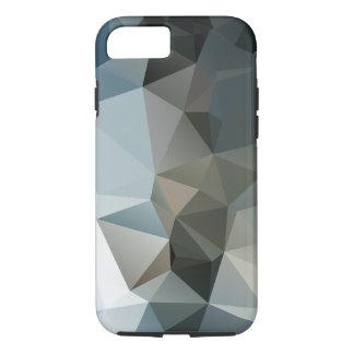 Coque iPhone 7 Les bleus et les noirs soustraient l'art de