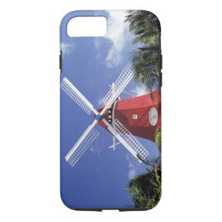 Coque iPhone 7 Les Caraïbe, Aruba. Vieux moulin, converti en