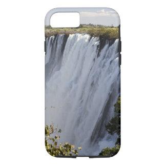 Coque iPhone 7 Les chutes Victoria, rivière de Zambesi, Zambie