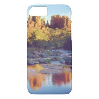 Coque iPhone 7 Les Etats-Unis, Arizona, Sedona. Se refléter de