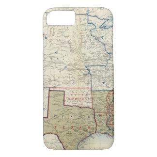 Coque iPhone 7 Les Etats-Unis en juin 1861
