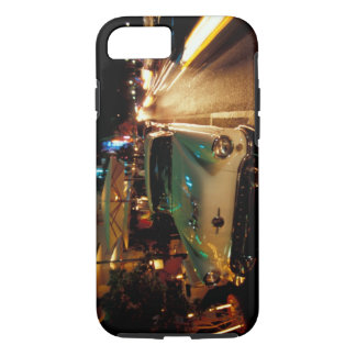 Coque iPhone 7 Les Etats-Unis, FL, Miami, plage du sud la nuit. 2