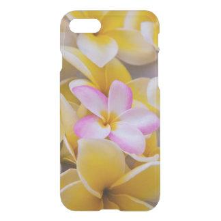Coque iPhone 7 Les Etats-Unis, Hawaï, Oahu, Plumeria fleurissent