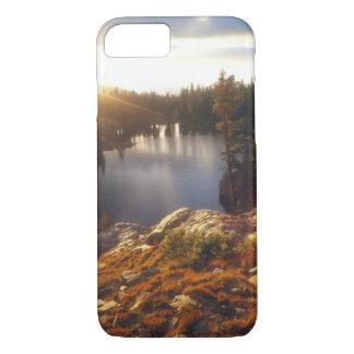 Coque iPhone 7 Les Etats-Unis, la Californie, sierra montagnes de