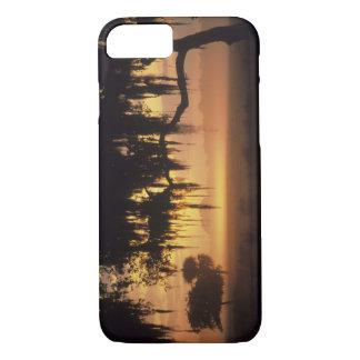 Coque iPhone 7 Les Etats-Unis, la Floride, lac Kissimmee.