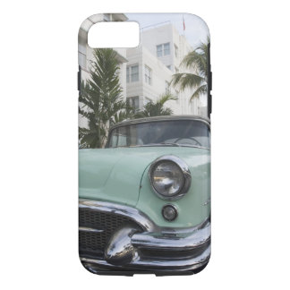 Coque iPhone 7 Les Etats-Unis, la Floride, Miami Beach : Beach du