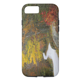 Coque iPhone 7 Les Etats-Unis, Maine, Camden. Route menant par