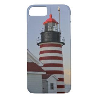 Coque iPhone 7 Les Etats-Unis, Maine, Lubec. Phare principal