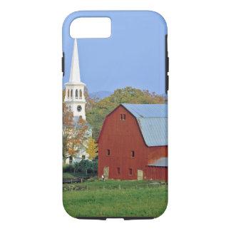Coque iPhone 7 Les Etats-Unis, Vermont, Peacham. Une grange et un