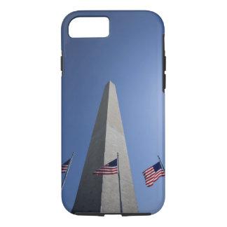 Coque iPhone 7 Les Etats-Unis, Washington, drapeaux américains de