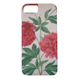 Coque iPhone 7 Les pivoines, plaquent 46 du Florilegium de Nassau