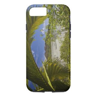 Coque iPhone 7 Les Seychelles, île de Curieuse, baie de Laraie