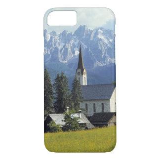Coque iPhone 7 L'Europe, Autriche, Gosau. La flèche de l'église