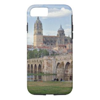 Coque iPhone 7 L'Europe, Espagne, Salamanque. Le pont romain plus