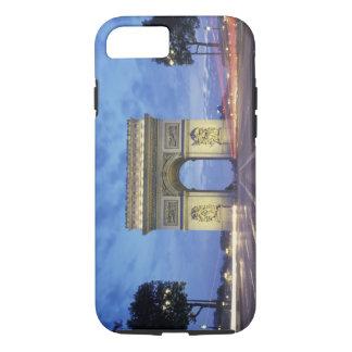Coque iPhone 7 L'Europe, France, Paris. Arc de Triomphe comme vu
