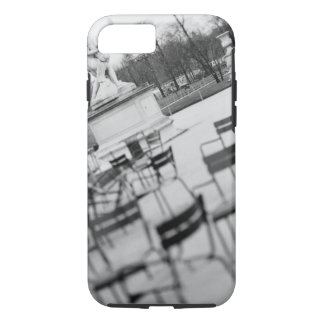 Coque iPhone 7 L'Europe, France, Paris. Chaises, Jardin du