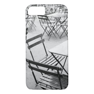 Coque iPhone 7 L'Europe, France, Paris. Chaises, Jardin du 3