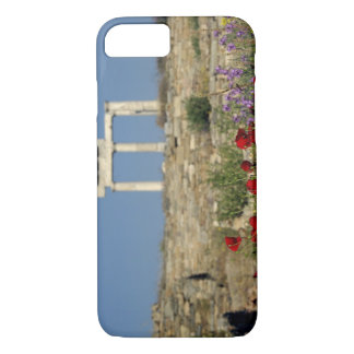 Coque iPhone 7 L'Europe, Grèce, Cyclades, Delos. Ruines de