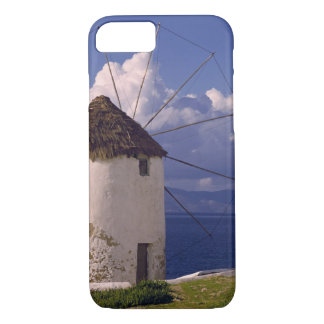 Coque iPhone 7 L'Europe, Grèce, Mykonos. Un blanc saisissant