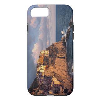 Coque iPhone 7 L'Europe, Italie, Manarola. Falaise-niché