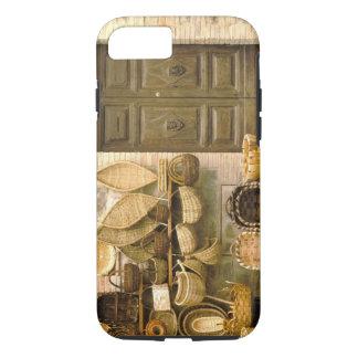 Coque iPhone 7 L'Europe, Italie, Toscane, Montalcino. Panier
