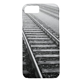 Coque iPhone 7 L'Europe, Suisse, Zurich. Voies de train