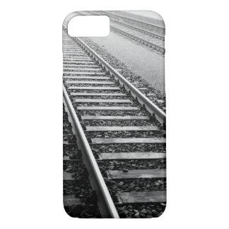 Coque iPhone 7 L'Europe, Suisse, Zurich. Voies de train