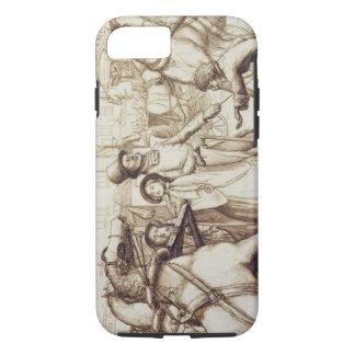 Coque iPhone 7 L'homme aveugle, 1853 (stylo, encre, lavage et