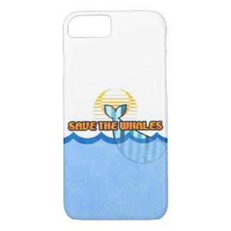 "Coque iPhone 7 l'iPhone 8/7, à peine là cas ""sauvent baleines"""