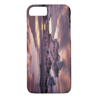 Coque iPhone 7 L'Islande, lagune de Jokulsarlon, paysage