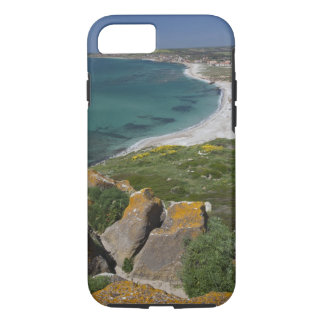 Coque iPhone 7 L'Italie, Sardaigne, Tharros. Vue de l'Espagnol