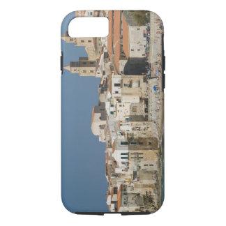 Coque iPhone 7 L'Italie, Sicile, Cefalu, vue de ville avec le