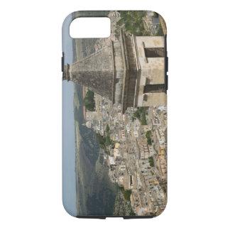 Coque iPhone 7 L'ITALIE, Sicile, RAGUSE IBLA : Vue et Père Noël
