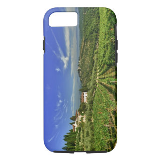 Coque iPhone 7 L'Italie, Toscane, Greve. Les vignobles de