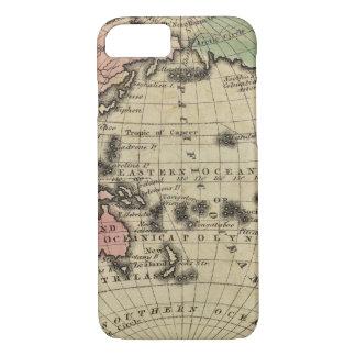 Coque iPhone 7 L'océan pacifique, îles britanniques