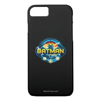 Coque iPhone 7 Logo de Batman avec des icônes