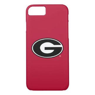 Coque iPhone 7 Logo de bouledogues de la Géorgie