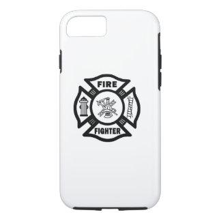 Coque iPhone 7 Logo de sapeur-pompier