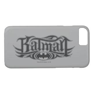 Coque iPhone 7 Logo stylisé de Batman |