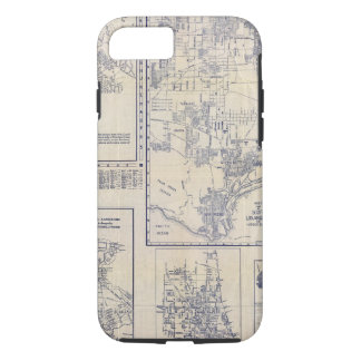 Coque iPhone 7 Los Angeles, la Californie
