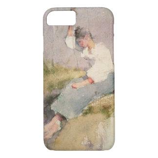 Coque iPhone 7 Louise, une fille bretonne (la semaine sur le