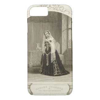 Coque iPhone 7 Madame Celeste en tant que princesse Katherine, Sc