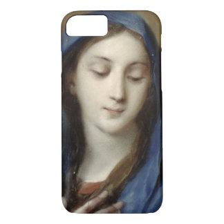 Coque iPhone 7 Madonna de la chapelle (en pastel sur le papier)