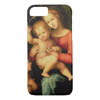 Coque iPhone 7 Madonna et enfant avec St John