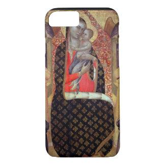 Coque iPhone 7 Madonna et enfant couronnés avec six anges