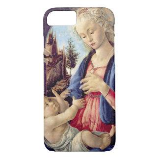 Coque iPhone 7 Madonna et enfant (panneau) 2
